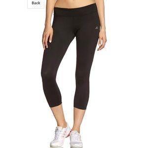 🔥30%OFF🔥EUC Adidas climalite yoga capris S